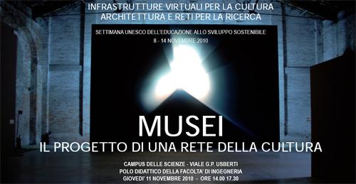 MUSEI. Il progetto di una rete della cultura