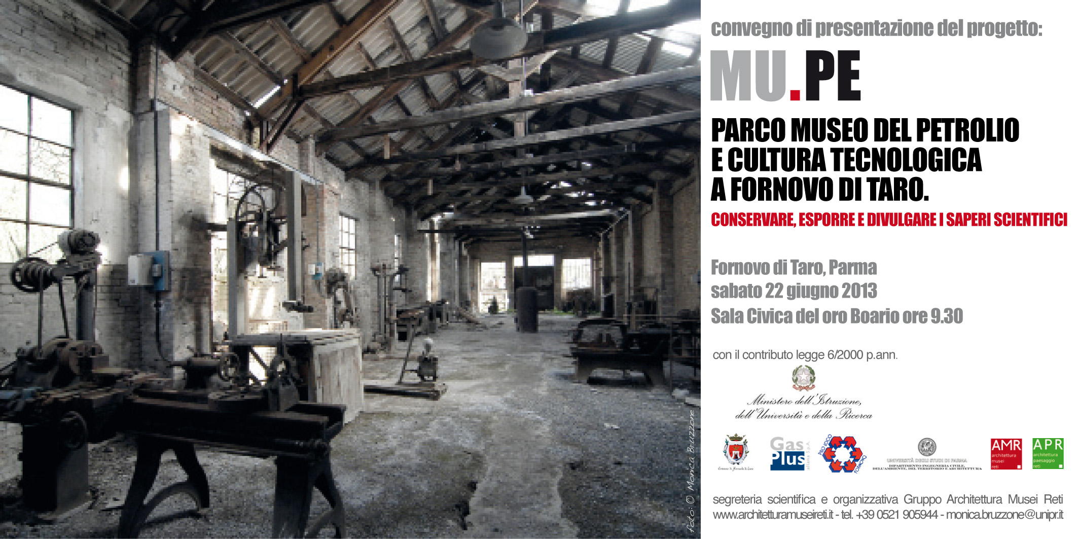 Convegno: Parco Museo del Petrolio e cultura tecnologica a Fornovo di Taro.