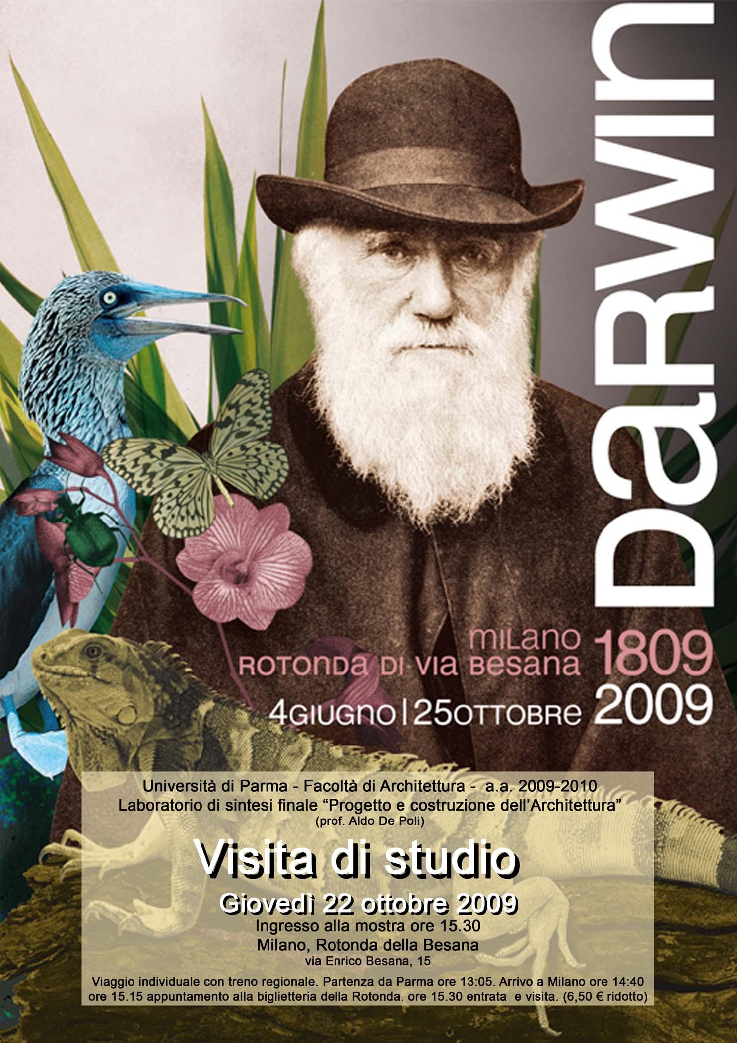 """Visita di studio alla mostra """"Darwin"""" a Milano"""